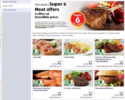 stiva teo - 都柏林購物 aldi super 6meat