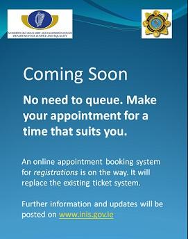 stiva teo, GNIB online appointment