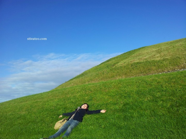 愛爾蘭旅遊 - 纽格莱奇墓 Newgrange1