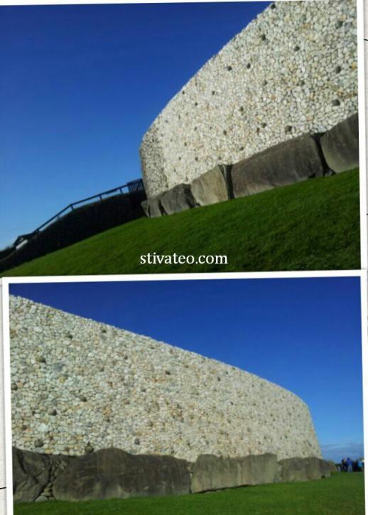 愛爾蘭旅遊 - 纽格莱奇墓 Newgrange2