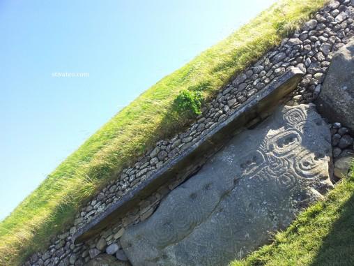愛爾蘭旅遊 - 纽格莱奇墓 Newgrange5