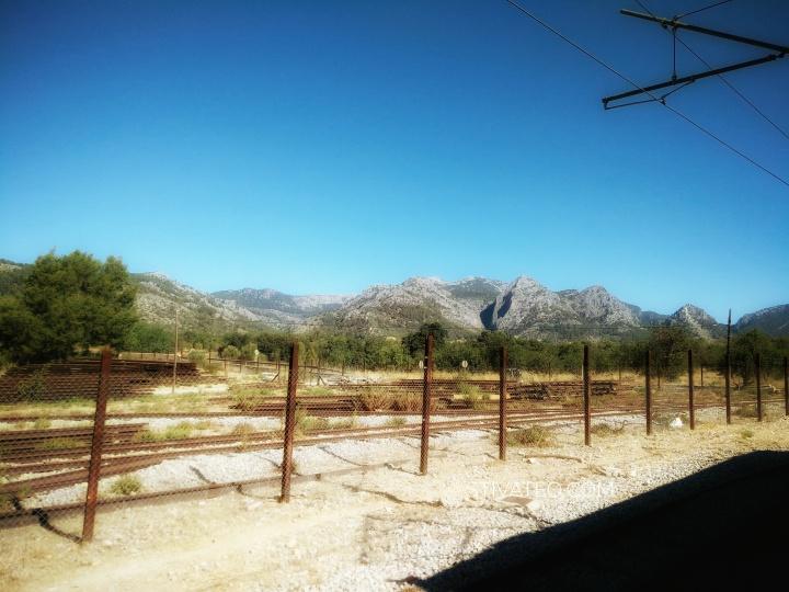 stiva teo,歐洲旅行, Mallorca 小島,soller ,火車11