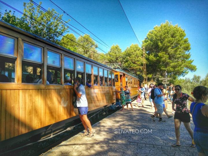 stiva teo,歐洲旅行, Mallorca 小島,soller ,火車14