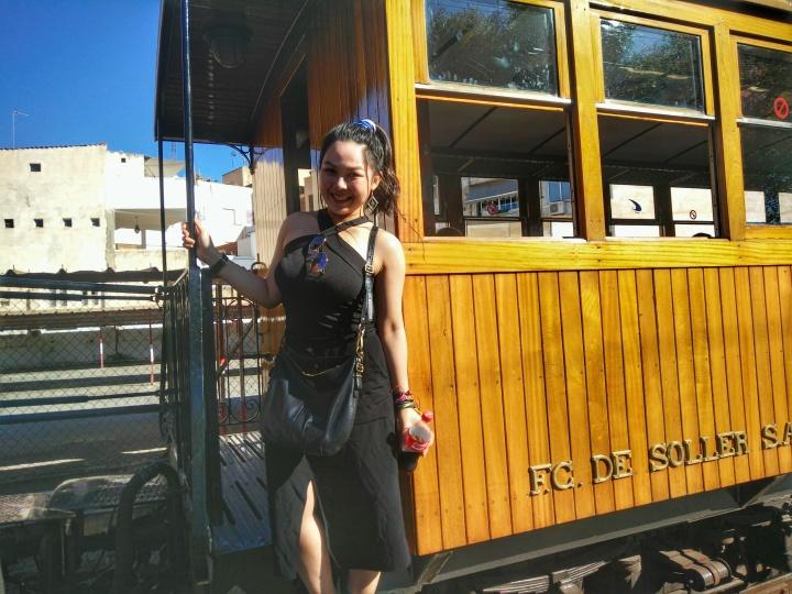stiva teo,歐洲旅行, Mallorca 小島,soller ,火車3