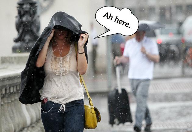 8 raincoat 愛爾蘭遊學