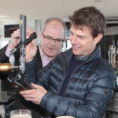 stiva teo ,愛爾蘭旅遊, 健力士酒廠 tom_Cruise_Guinness