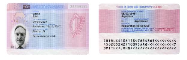 GNIB更換,stiva teo, 愛爾蘭遊學,簽證