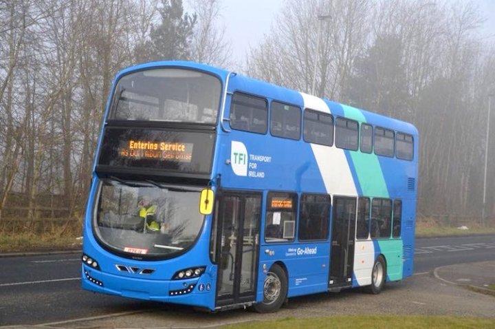 stiva teo,愛爾蘭遊學,交通資訊, 都柏林交通,巴士,go ahead bus, 打工度假