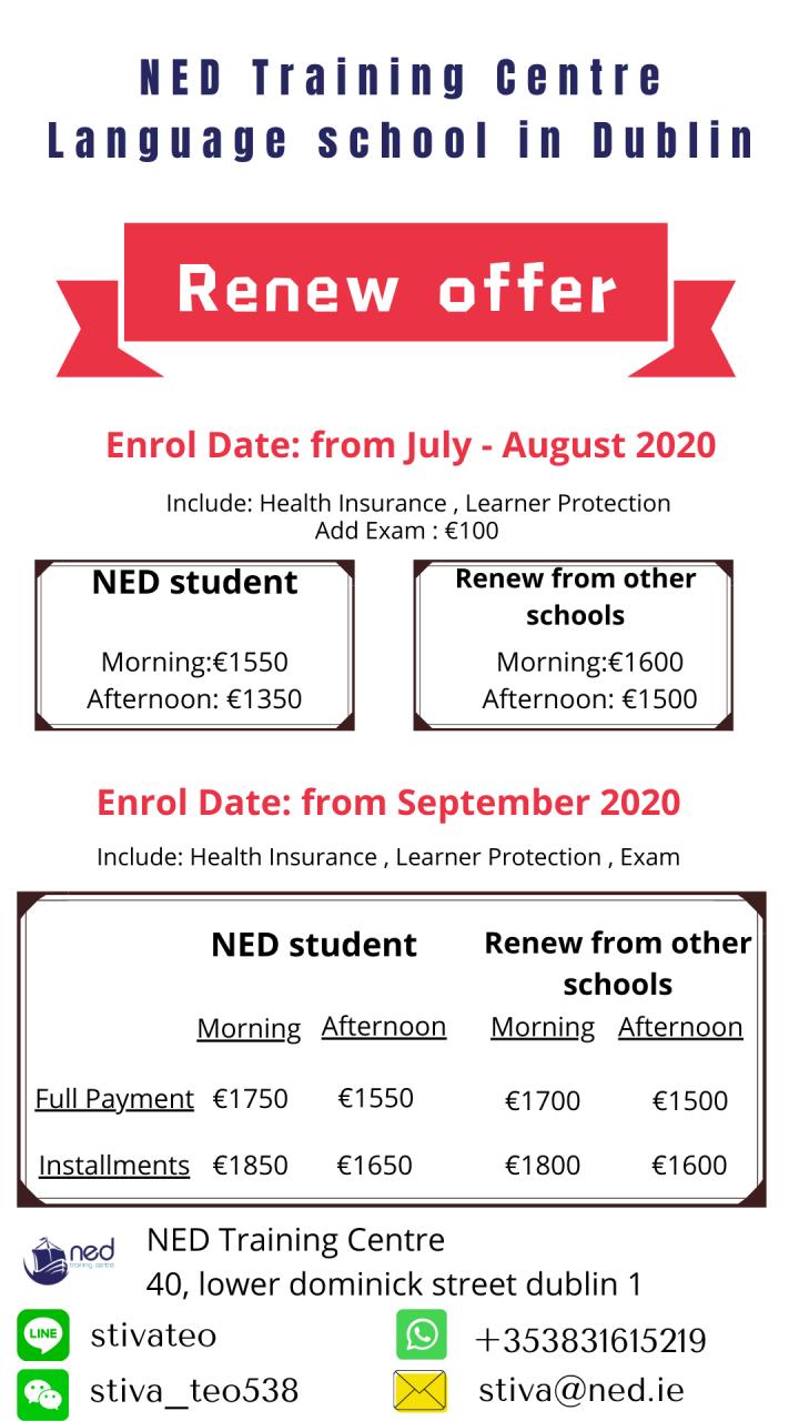 NED Renew - September